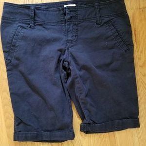Mossimo Navy Blue Bermuda Shorts Size 3